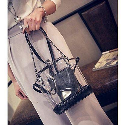 Obrázek Designová kabelka - černá