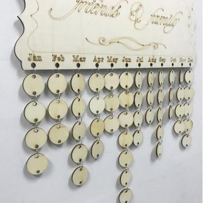 Obrázek z Narozeninový kalendář