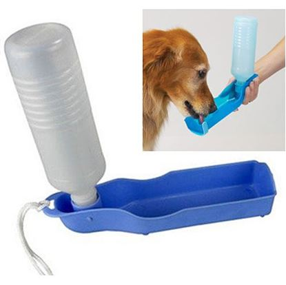 Obrázek Cestovní láhev pro psy - modrá