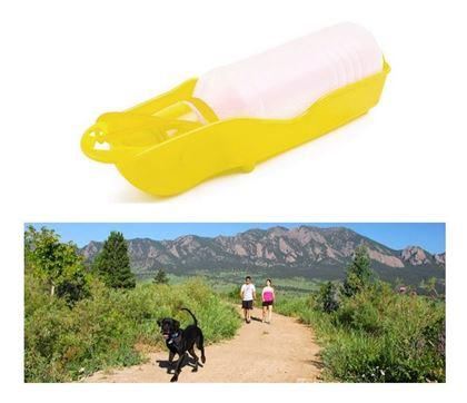 Obrázek z Cestovní láhev pro psy - žlutá