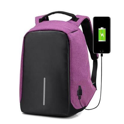 Obrázek Bezpečnostní batoh s USB nabíječkou