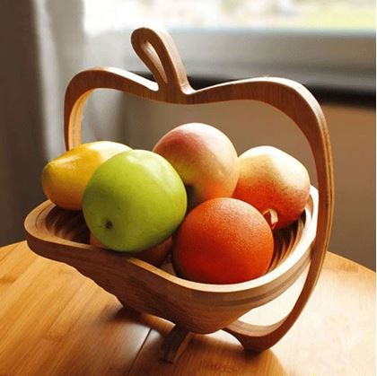Obrázek z Skládací košík - jablko
