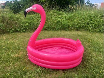 Obrázek z Dětský nafukovací bazén Plameňák