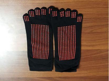 Obrázek Protiskluzové ponožky na jógu