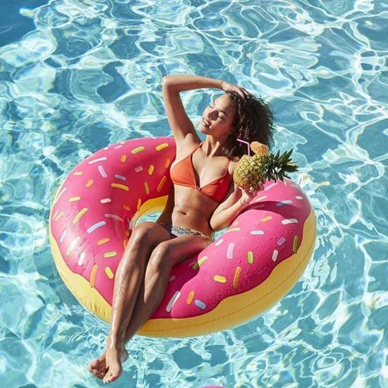 Obrázek z Nafukovací kruh Donut - růžový