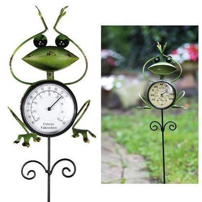 Obrázek Zahradní teploměr - žabka