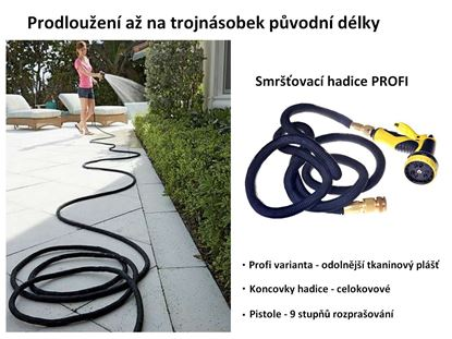Obrázek Smršťovací zahradní hadice Profi 30 m