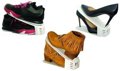 Obrázek Plastový organizér na boty - sada 20 ks