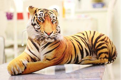 Obrázek z Polštář - 3D tygr