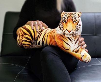 Obrázek Polštář - 3D tygr