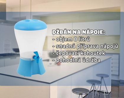Obrázek z Džbán na nápoje s kohoutkem