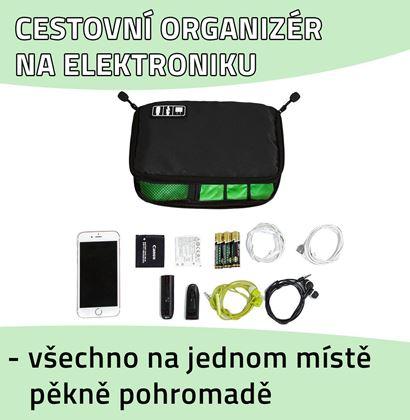 Obrázek z Cestovní organizér na elektroniku - velký