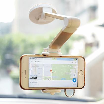 Obrázek z Nastavitelný držák mobilu s přísavkou