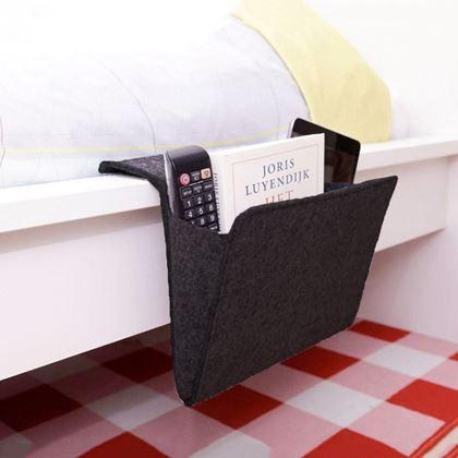 Obrázek z Organizér na postel - černý