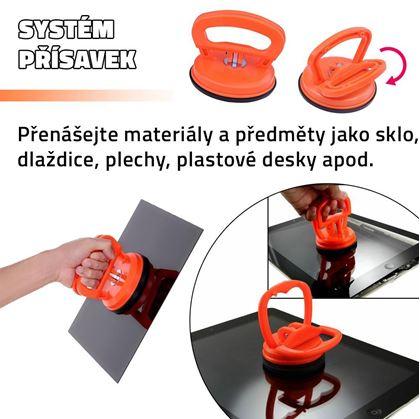 Obrázek z Držák materiálu s přísavkou