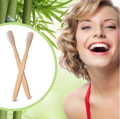 Obrázek Bambusový zubní kartáček