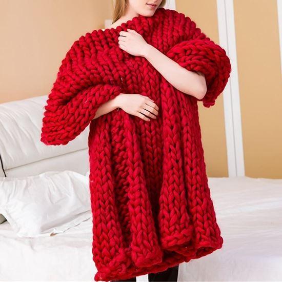 Obrázek z Příze pro ruční pletení - červená
