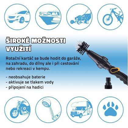 Obrázek z Rotační kartáč na hadici