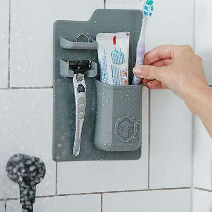 Obrázek z Držák hygienických potřeb - šedá