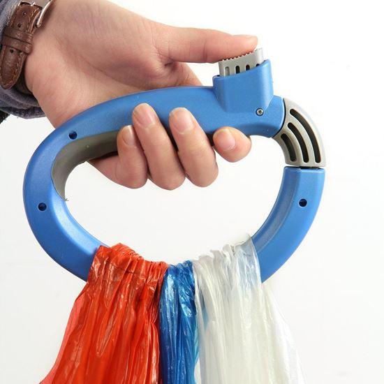 Obrázek z Přenosný držák na tašky