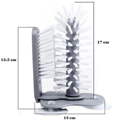 Obrázek z Kartáče do dřezu s přísavkou