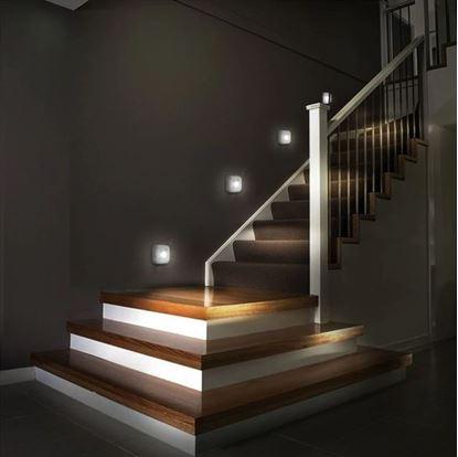 Obrázek Noční LED osvětlení 4 ks