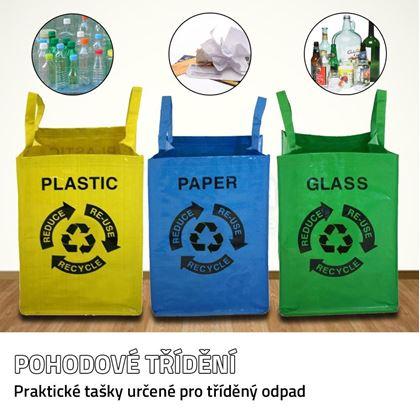 Obrázek z Tašky na tříděný odpad