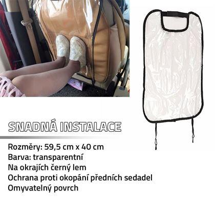 Obrázek z Chránič proti okopání sedadel