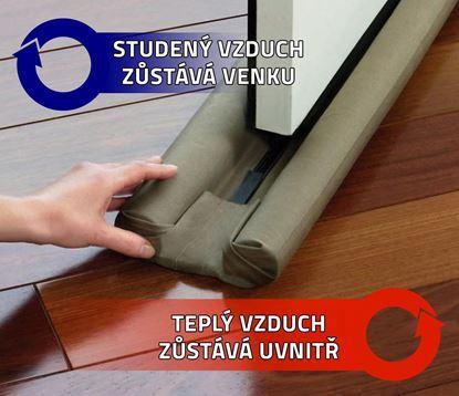 Obrázek Izolační zarážka do dveří - 4 ks