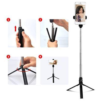 Obrázek z Selfie tyč se stativem