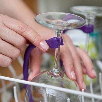 Obrázek z Držák skleničky do myčky 4 ks