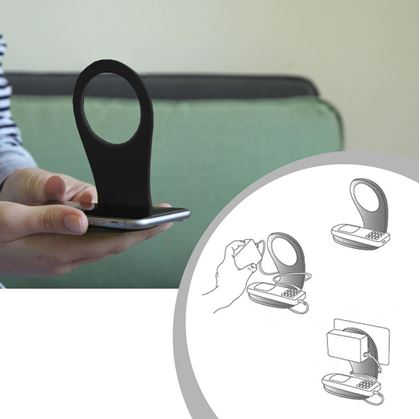Obrázek z Držák mobilu - černý