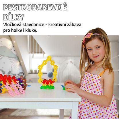 Obrázek Vločková stavebnice 500 ks