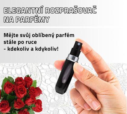 Obrázek z Elegantní rozprašovač na parfémy - černý 3 ks