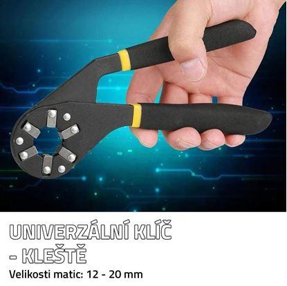 Obrázek Univerzální klíč - kleště