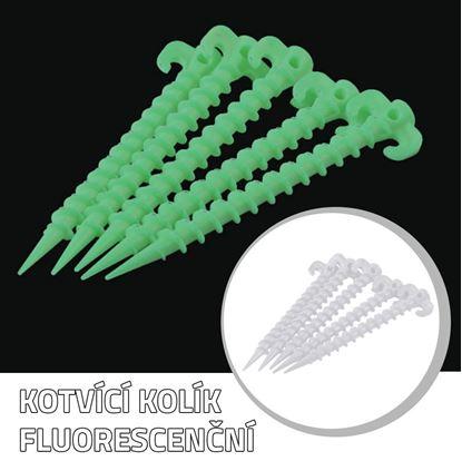 Obrázek Kotvící kolík - fluorescenční
