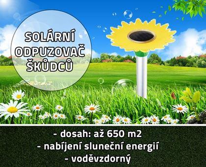 Obrázek z Solární odpuzovač škůdců