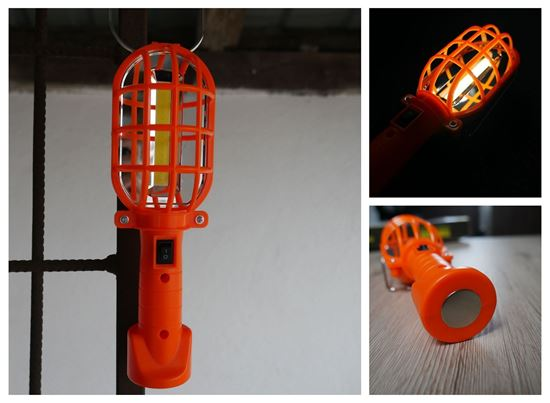 Obrázek z Přenosná svítilna - oranžová