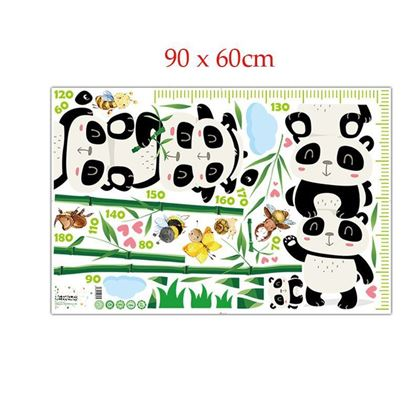 Obrázek z Nalepovací metr - Panda