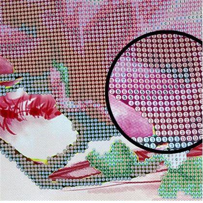 Obrázek z Diamantové malování - květina