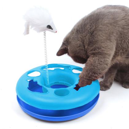 Interaktivní kočičí hračka