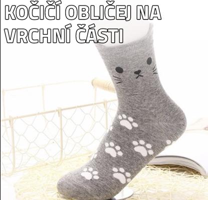 Kočičí ponožky