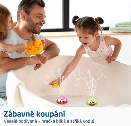 hračky do vany