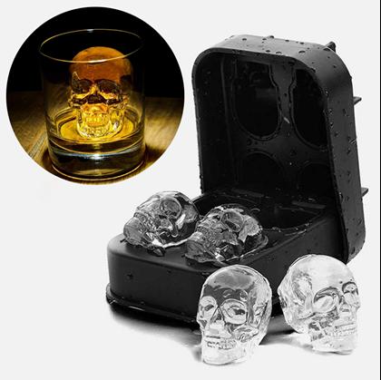 Obrázek z Forma na led - lebka