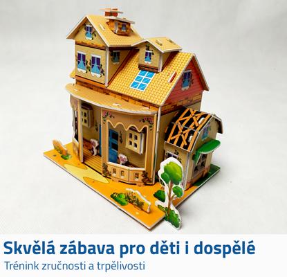 3D dům