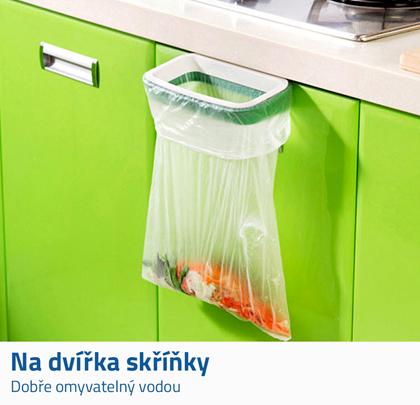 držáky na odpadkové pytle