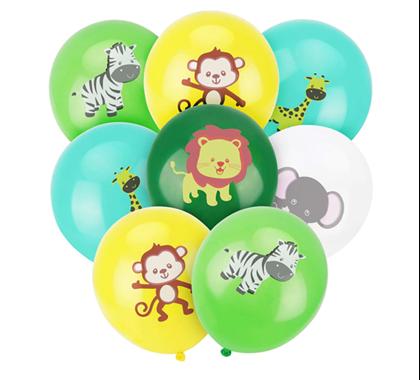 balónky safari