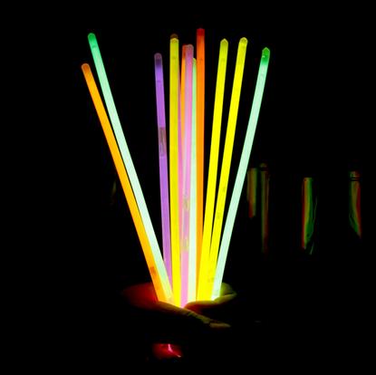 svítící tyčinky