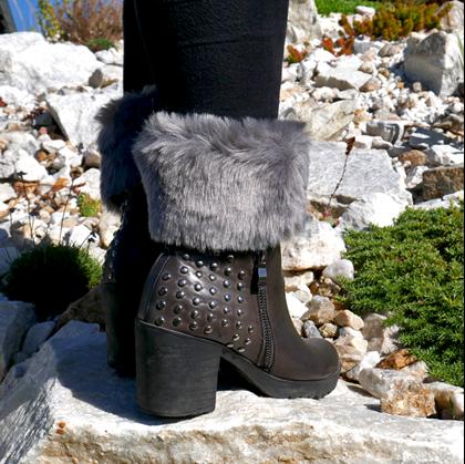 zimní návleky na boty