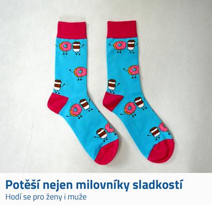 Ponožky s obrázky